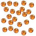 Sun Orange Rhinestones